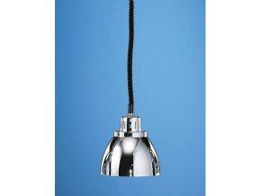 Infra lampa závěsná Scholl chrom