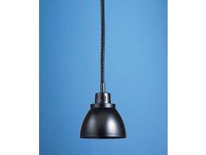 Infra lampa závěsná Scholl černá