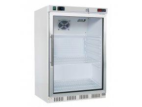 lednice podstolova prosklene dvere hr 200g redfox