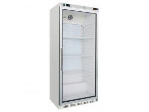 lednice bila prosklene dvere hr 600 g redfox