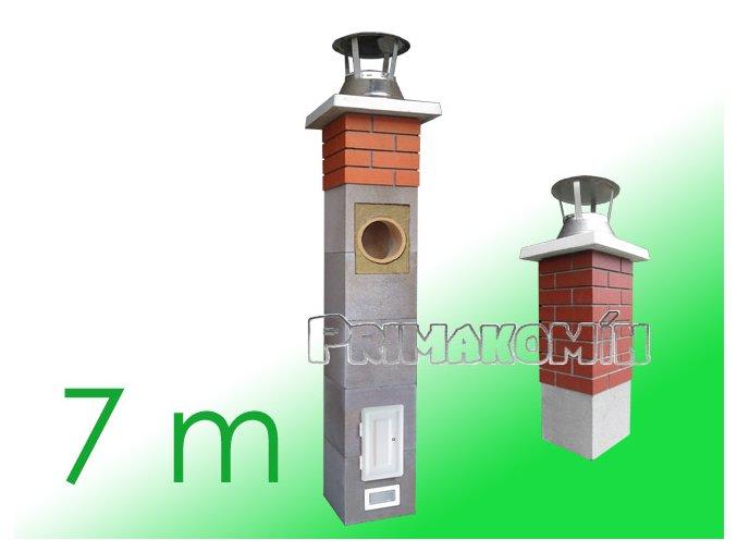 AKCE: Komínový systém 7 m, 160 mm včetně 1 m tvarovek Final