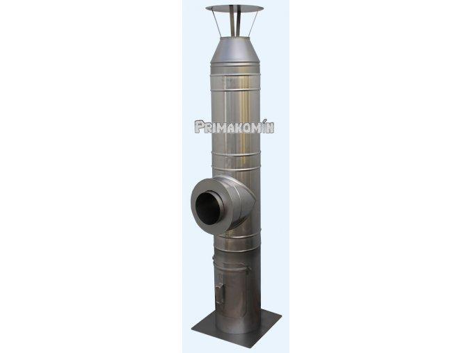 Nerezový komínový systém ak/al 5,5 m - 160 mm