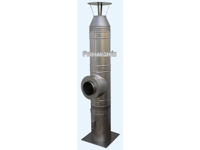 Nerezový komínový systém 5,5 m - 200 mm