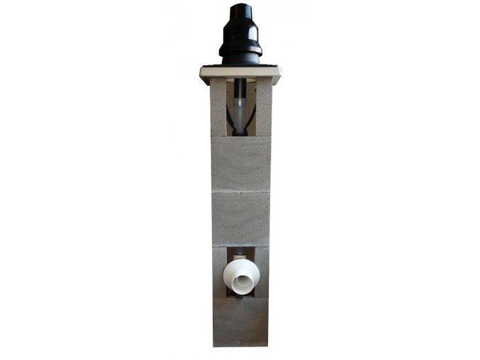 Komínový systém pro kondenzační kotel 8 m, 80 mm