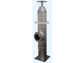 Nerezový komínový systém ak/al 6 m - 200 mm