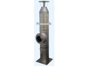 Nerezový komínový systém ak/al 11 m - 150 mm