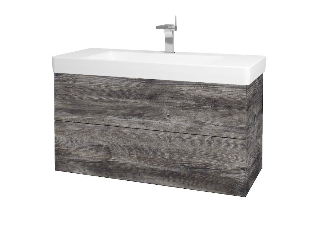 Dřevojas Koupelnová skříň VARIANTE SZZ2 105