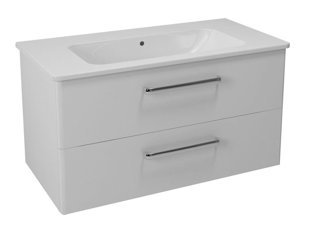 Sapho Pura skříňka s umyvadlem 96x50x48 cm PR103-8823111