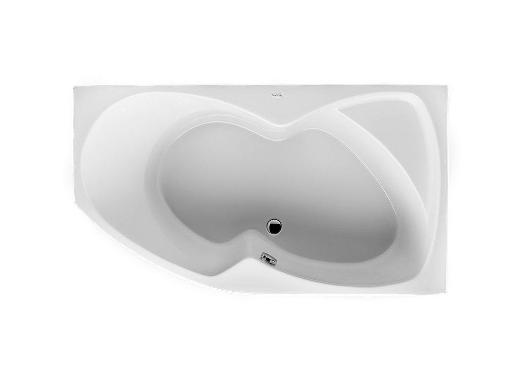 Santech Fontána rohová vana 150 x 90 pravá SAFON150P - Vany > Asymetrické vany