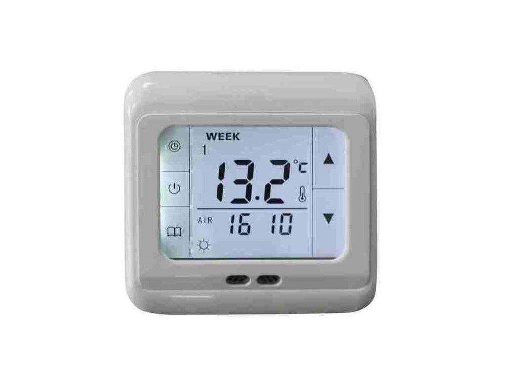 Dotykový digitální termostat pro regulaci topných rohoží 124091