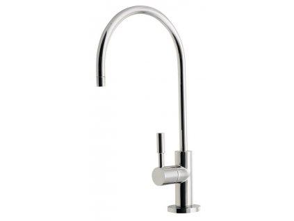Ventil na filtrovanou vodu, výška 277 mm, chrom DI19 - Vodovodní baterie > Dřezové baterie