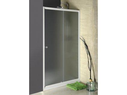 AQUALINE AMADEO posuvné sprchové dveře 1000 mm, sklo BRICK