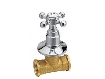 REITANO ANTEA podomítkový ventil, studená, chrom 3051C - Vodovodní baterie > Podomítková tělesa