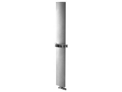 Otopné těleso / radiátor / topný žebřík: Ridea OTHELLO MONO SLIM otopné těleso 300 x 1890 mm, metalická stříbrná 2301189030SS od značky Ridea. Série: Othello. Šířka: 300 mm. Výška: 1890 mm. Výkon: 430 W. Barva: Stříbrná. Materiál: Hliník. Možnost vytápění: Kombinované vytápění. Doporučená topná tyč o výkonu: 400 W. Doporučené umístění: Koupelna. Rozměry (šxv): 300 x 1890 mm. Styl: Designový. Tvar: Designový, Deskový. Výbava: Držák ručníků: součástí.