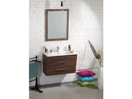 SAPHO Koupelnový set KALI 75, ořech bruno KSET-005