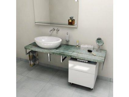 SAPHO AVICE deska 140x50cm, aquamarine AV1406