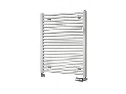 Otopné těleso / radiátor / topný žebřík: Aqualine SIBU otopné těleso s držákem ručníků, 500 x 775 mm, bílá IL507 od značky Aqualine. Série: Sibu. Šířka: 500 mm. Výška: 775 mm. Výkon: 409 W. Barva: Bílá. Materiál: Ocel. Možnost vytápění: Kombinované vytápění. Doporučená topná tyč o výkonu: 400 W. Doporučené umístění: Koupelna. Rozměry (šxv): 500 x 775 mm. Rozteč připojení přesně: 459 mm. Styl: Designový. Tvar: Designový, Tvar H. Výbava: Držák ručníků: součástí. Připojení: Boční připojení.