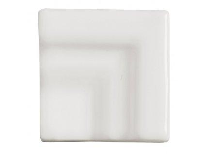 RIVIERA Angulo Macro Cornisa Lido White 5x5 od výrobce Adex. Série: RIVIERA. Styl: . Rozměry: 5x5 cm. Materiál: keramika. Barva: . Použití: obklad. Povrch: lesk. Umístění: . Produkt z kategorie: Obklady a dlažby > Dekorativní obklady. <p>Z důvodu zvýšených nákladů na logistiku obkladů a dlažeb je <strong>minimální hodnota celkové objednávky 15.000 Kč</strong> (hodnota objednávky je součet všech objednaných produktů).</p>
