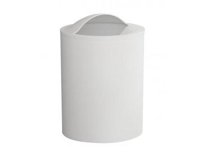 AQUALINE EYE odpadkový koš, 6 l, plast ABS, bílá