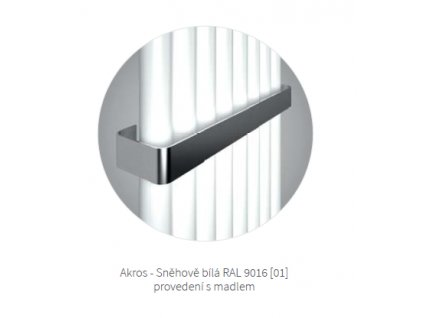 Madlo: ISAN MADLO AKROS 2/370 O15MN81-30-0101 od značky Isan. Série: Melody. Šířka: 456 mm. Barva: Nerez. Doporučené umístění: Koupelna. Váha: 0,85 kg.