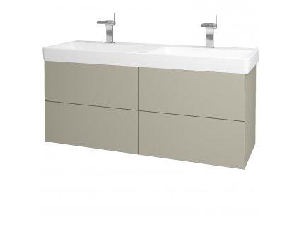 Dřevojas Koupelnová skříň VARIANTE SZZ4 130