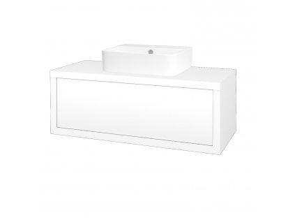 Dřevojas Koupelnová skříň STORM SZZ 100 (umyvadlo Joy 3)