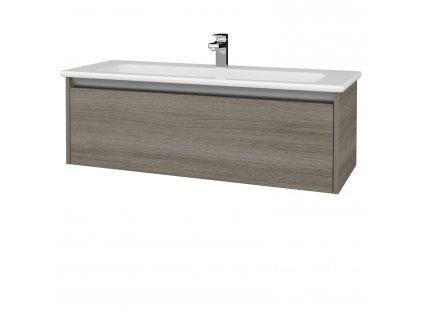 Dřevojas Koupelnová skříň BONO SZZ 120 (umyvadlo Euphoria)