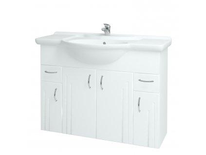 Dřevojas Koupelnová skříň DREJA SZD4Z2 105