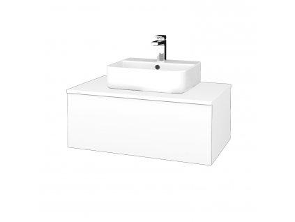 Dřevojas Koupelnová skříňka MODULE SZZ1 80