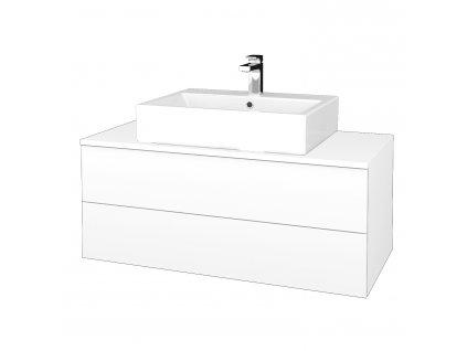 Dřevojas Koupelnová skříňka MODULE SZZ2 100