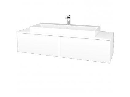 Dřevojas Koupelnová skříňka MODULE SZZ12 140