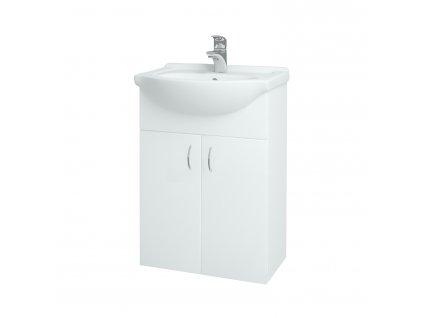 Dřevojas Koupelnová skříň PLUTO SZD2 55