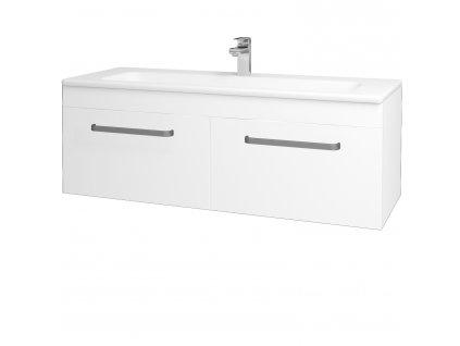 Dřevojas Koupelnová skříň ASTON SZZ2 120