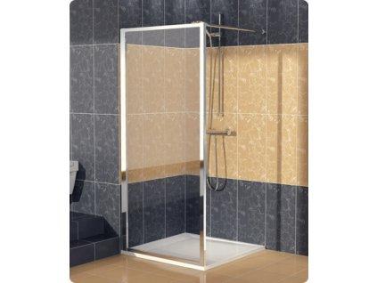SanSwiss Ronal Eco-Line ECOF07000407 boční stěna 70 x 190 cm, barva profilu Bílá