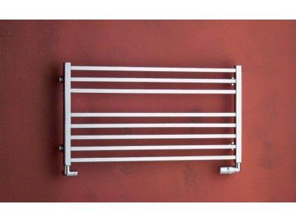 Otopné těleso / radiátor / topný žebřík: PMH Avento 905 x 480 mm AVLMS koupelnový radiátor metalická stříbrná od značky P.M.H.. Série: Avento. Šířka: 905 mm. Výška: 480 mm. Výkon: 422 W. Barva: Stříbrná. Možnost vytápění: Kombinované vytápění, Ústřední vytápění. Doporučená topná tyč o výkonu: 400 W. Doporučené umístění: Koupelna. Rozměry (šxv): 905 x 480 mm. Tvar: Rovný.