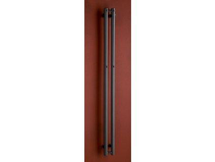 Otopné těleso / radiátor / topný žebřík: PMH Rosendal 115 x 1500 mm R2A/2 koupelnový radiátor antracit od značky P.M.H.. Série: Rosendal. Šířka: 115 mm. Výška: 1500 mm. Barva: Antracit. Možnost vytápění: Kombinované vytápění, Ústřední vytápění. Doporučená topná tyč o výkonu: 200 W. Doporučené umístění: Chodba, koupelna, kuchyň nebo předsíň. Rozměry (šxv): 115 x 1500 mm. Tvar: Rovný.