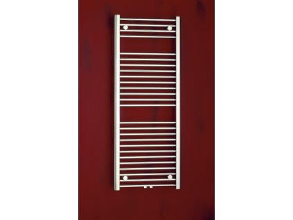 Otopné těleso / radiátor / topný žebřík: PMH Savoy 600 x 790 mm S2MS-M koupelnový radiátor metalická stříbrná od značky P.M.H.. Série: Savoy. Šířka: 600 mm. Výška: 790 mm. Výkon: 300 W. Barva: Stříbrná. Možnost vytápění: Kombinované vytápění, Ústřední vytápění. Doporučená topná tyč o výkonu: 300 W. Doporučené umístění: Koupelna. Rozměry (šxv): 600 x 790 mm. Tvar: Rovný. Připojení: Středové připojení.