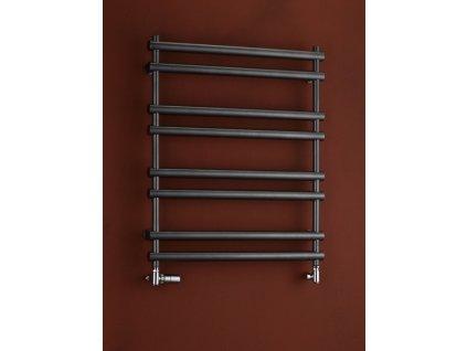 Otopné těleso / radiátor / topný žebřík: PMH Ulysses 900 x 838 mm U6A koupelnový radiátor antracit od značky P.M.H.. Série: Ulysses. Šířka: 838 mm. Výška: 838 mm. Výkon: 300 W. Barva: Antracit. Možnost vytápění: Kombinované vytápění, Ústřední vytápění. Doporučená topná tyč o výkonu: 300 W. Doporučené umístění: Koupelna. Rozměry (šxv): 838 x 838 mm. Tvar: Rovný. Připojení: Boční připojení.
