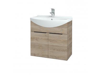 Dřevojas Koupelnová skříň TAKE IT SZD2 65