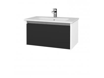 Dřevojas Koupelnová skříň BONO SZZ 80 (umyvadlo Euphoria)