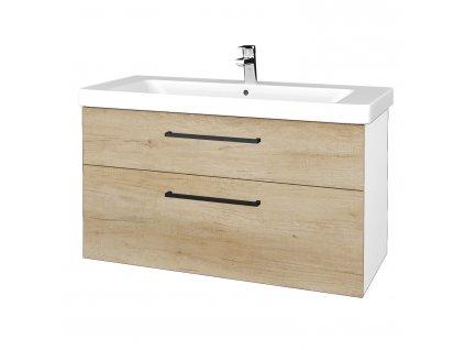 Dřevojas Koupelnová skříň Q MAX SZZ2 105