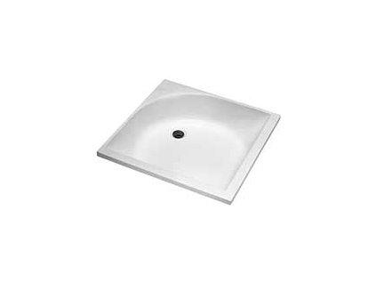Kolo hluboká čtvercová sprchová vanička 80 cm