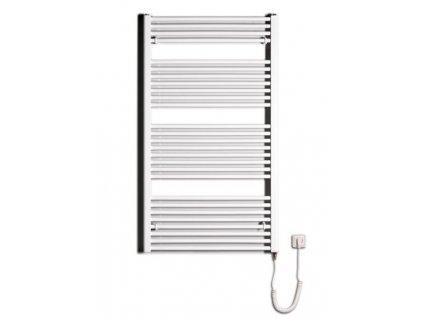 Otopné těleso / radiátor / topný žebřík: Thermal Trend KD-E 750 x 1320 elektrický topný žebřík rovný, 600W KD-E 750/1320 od značky Thermal Trend. Šířka: 750 mm. Výška: 1320 mm. Výkon: 600 W. Barva: Bílá. Materiál: Ocel. Možnost vytápění: Elektrické vytápění. Doporučená topná tyč o výkonu: 600 W. Doporučené umístění: Chodba, koupelna nebo WC. Rozměry (šxv): 750 x 1320 mm. Tvar: Rovný.