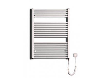 Otopné těleso / radiátor / topný žebřík: Thermal Trend KD-E 750 x 960 elektrický topný žebřík rovný, 500W KD-E 750/960 od značky Thermal Trend. Šířka: 750 mm. Výška: 960 mm. Výkon: 500 W. Barva: Bílá. Materiál: Ocel. Možnost vytápění: Elektrické vytápění. Doporučená topná tyč o výkonu: 500 W. Doporučené umístění: Chodba, koupelna nebo WC. Rozměry (šxv): 750 x 960 mm. Tvar: Rovný.