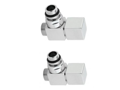 SAPHO CUBE připojovací sada stříbrná CP4520 CP4520