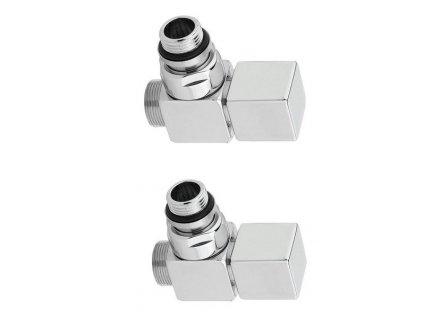 SAPHO CUBE připojovací sada broušená nerez CP4510 CP4510