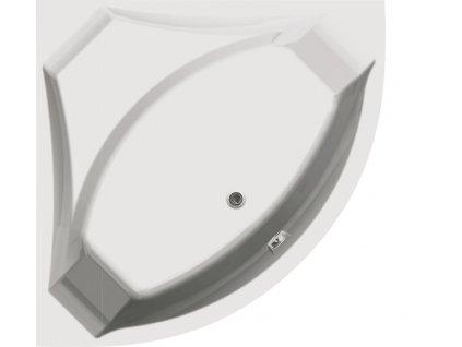 Vagnerplast Veronela rohová vana 140 x 140 x 45cm VERR - Vany > Rohové vany