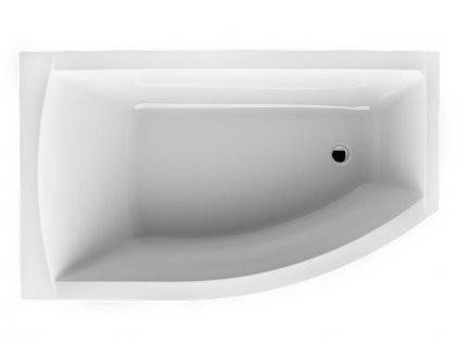 Santech Fiona rohová vana 150 x 85 levá SAFIO150L - Vany > Asymetrické vany