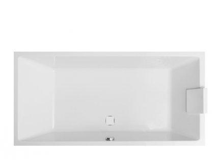 Vagnerplast Cavallo obdélníková vana 190 x 90 x 45cm CA190 - Vany > Obdelníkové vany