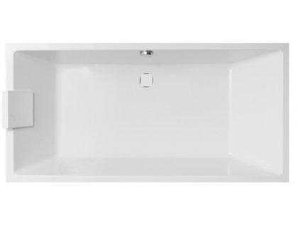 Vagnerplast Cavallo obdélníková vana 180 x 80 x 45cm CA180 - Vany > Obdelníkové vany